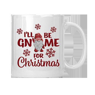I'll Be Gnome For Christmas Mug