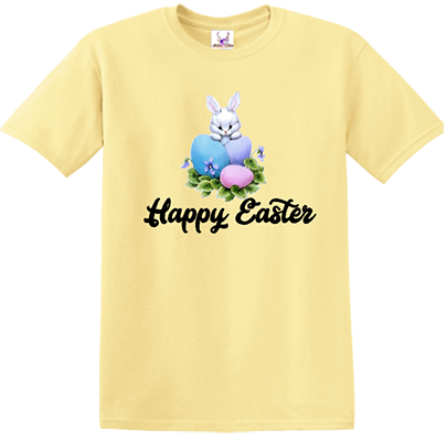 Happy Easter Bunny w/Eggs Tee