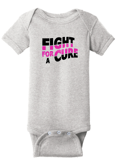 Infant Cancer Awareness Shortsleeve Onesie