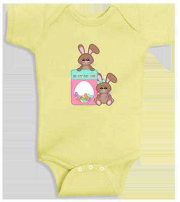 Jelly Bean Bunny InfantOnesie