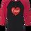 Thumbnail: Love Glitter Heart Raglan