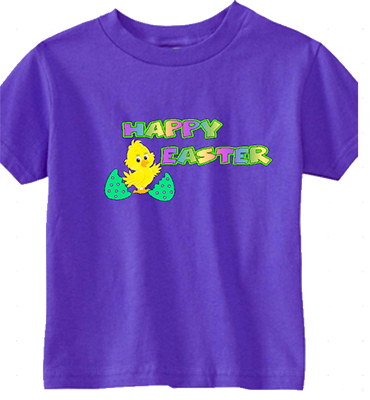 Happy Easter Chick Infant/Toddler Tee