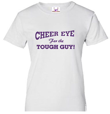 Cheer Eye White Tee