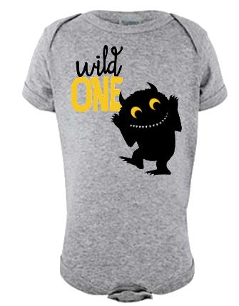 Wild One Infant Onesie or Tee
