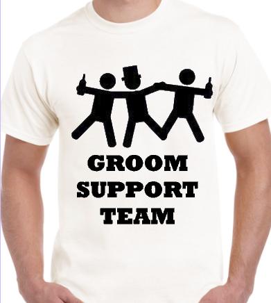 Groom Support Team Groom Tee