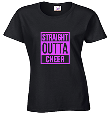 Straight Outta Cheer Tee