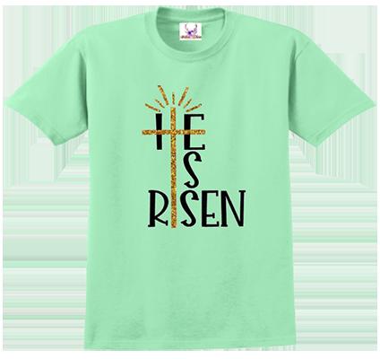 He Is Risen Tee