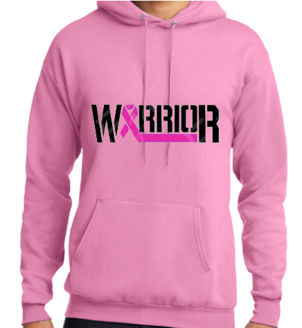 Ladies Cancer Awareness Hoodie