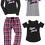 Thumbnail: Cancer Sucks Flannel Pant Set