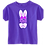 Thumbnail: Bunny Ears with Name Infant/Toddler Girls Tee