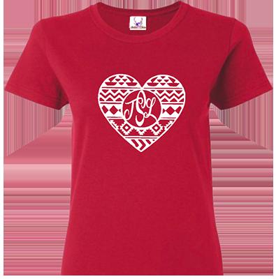 Western Heart w Monogram