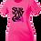 Thumbnail: Ladies Cancer Awareness Posicharge Tee