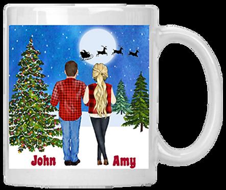 Couples Christmas Mug