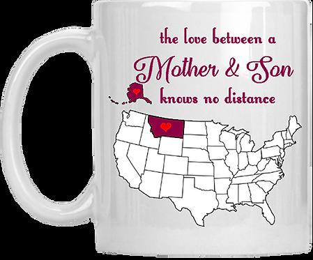 The Love Between Mother & Son Coffee Mug