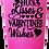 Thumbnail: 20 oz. Bubblegum Glitter Hugs & Kisses Custom Travel Mug