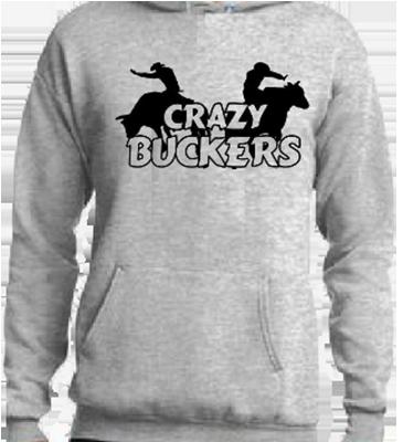 Crazy Buckers Hoodie