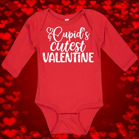 Cupid's Cutest Valentine Onesie or Toddler Tee