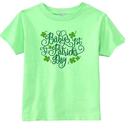 Baby's First St Patricks Day Infant/Toddler Tee
