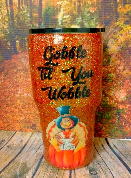 Gobble Till You Wobble Travel Mug