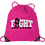 Thumbnail: Cancer Awareness Cinch Bag