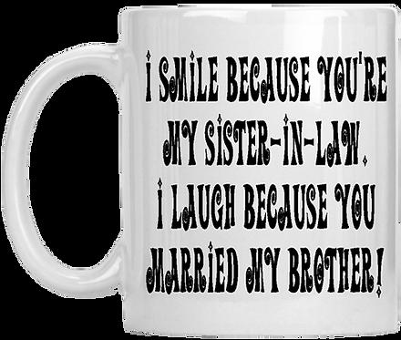 My Sister In Law Mug