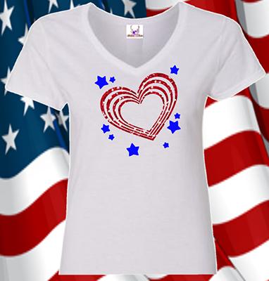 Hearts & Stars Tee