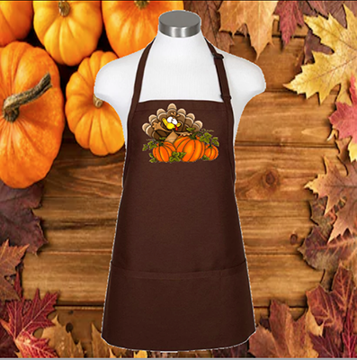 "Whacky Turkey 24"" Apron"