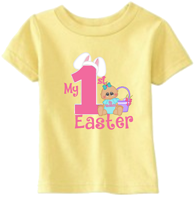 Baby Girl 1st Easter Infant Tee