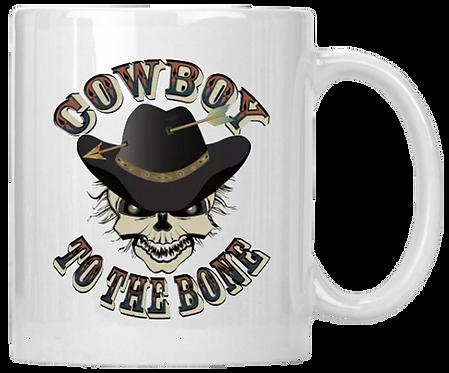 Cowboy To The Bone Mug