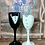 Thumbnail: Bride and Groom Champagne Glass set
