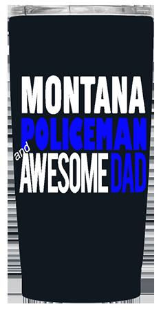 State Policeman 20 oz Custom Tumbler