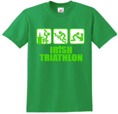 Irish Triathlon Tee