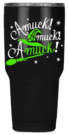 30oz Amuck Amuck Amuck Halloween Custom Tumbler
