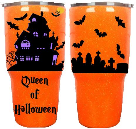 30oz Halloween Queen Custom Tumbler