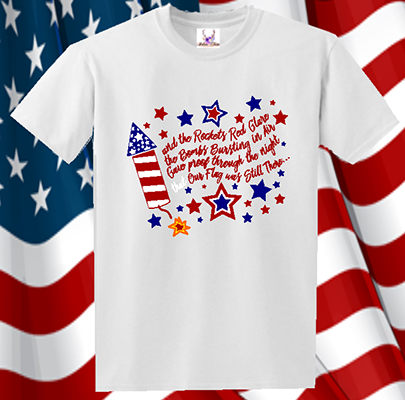 Rockets Red Glare Tee
