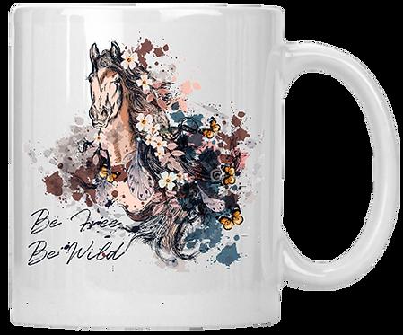 Be Free Be Wild Mug