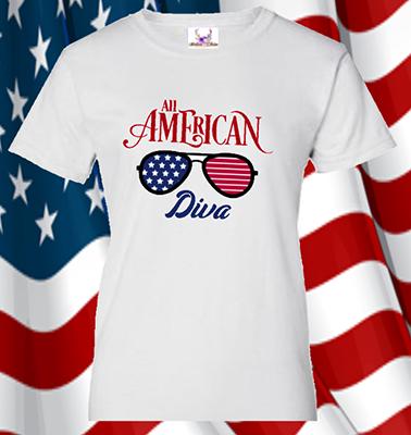 All American Diva Tee