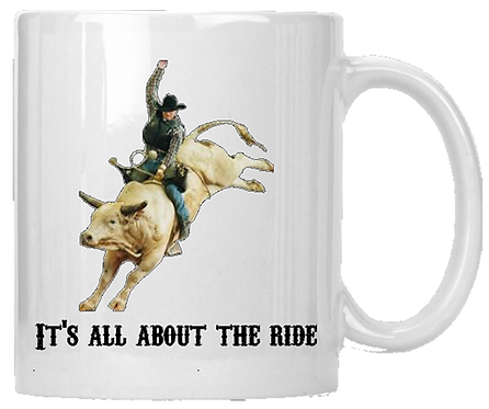Its All About The Ride Mug