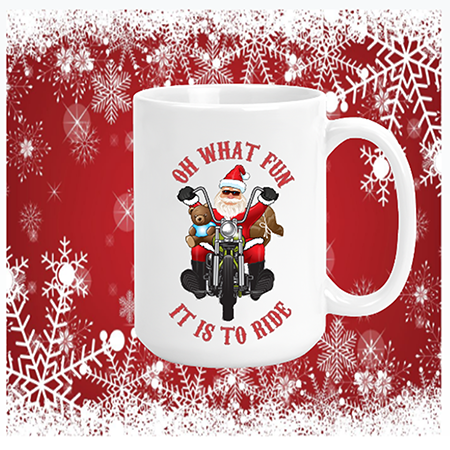 Oh What Fun It Is To Ride (Harley) Mug