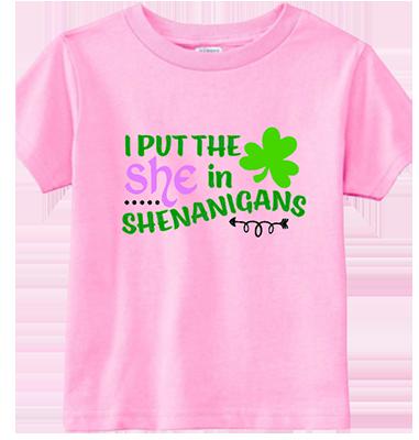 She in Shenanigans Infant/Toddler Tee