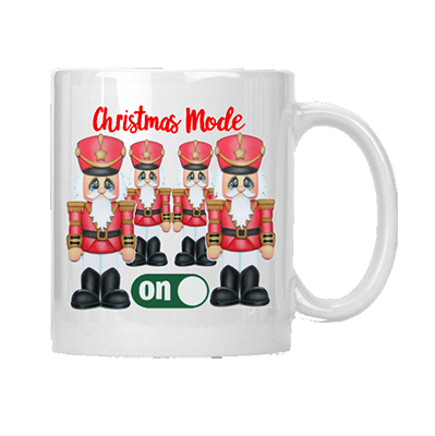 Christmas Mode Mug Nutcracker