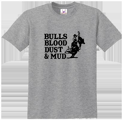 Bulls Blood Dust & Mud Tee