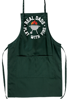 Real Dads Play With Fire Grill Apron