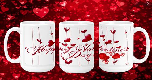Happy Valentines Day 15oz Valentine Mug