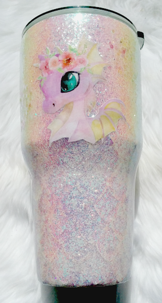 Princess Dragon Custom Tumbler
