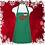 "Thumbnail: Mrs Claus Bakery 24"" 3 Pocket Apron"