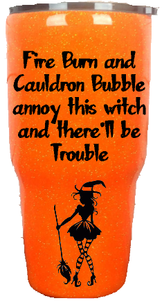 30oz Annoy This Witch Halloween Custom Tumbler