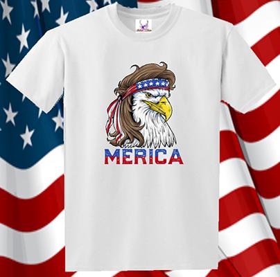 Merica Eagle IV Tee