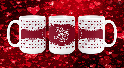Love 15oz Valentine Mug