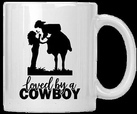 Loved By A Cowboy Mug